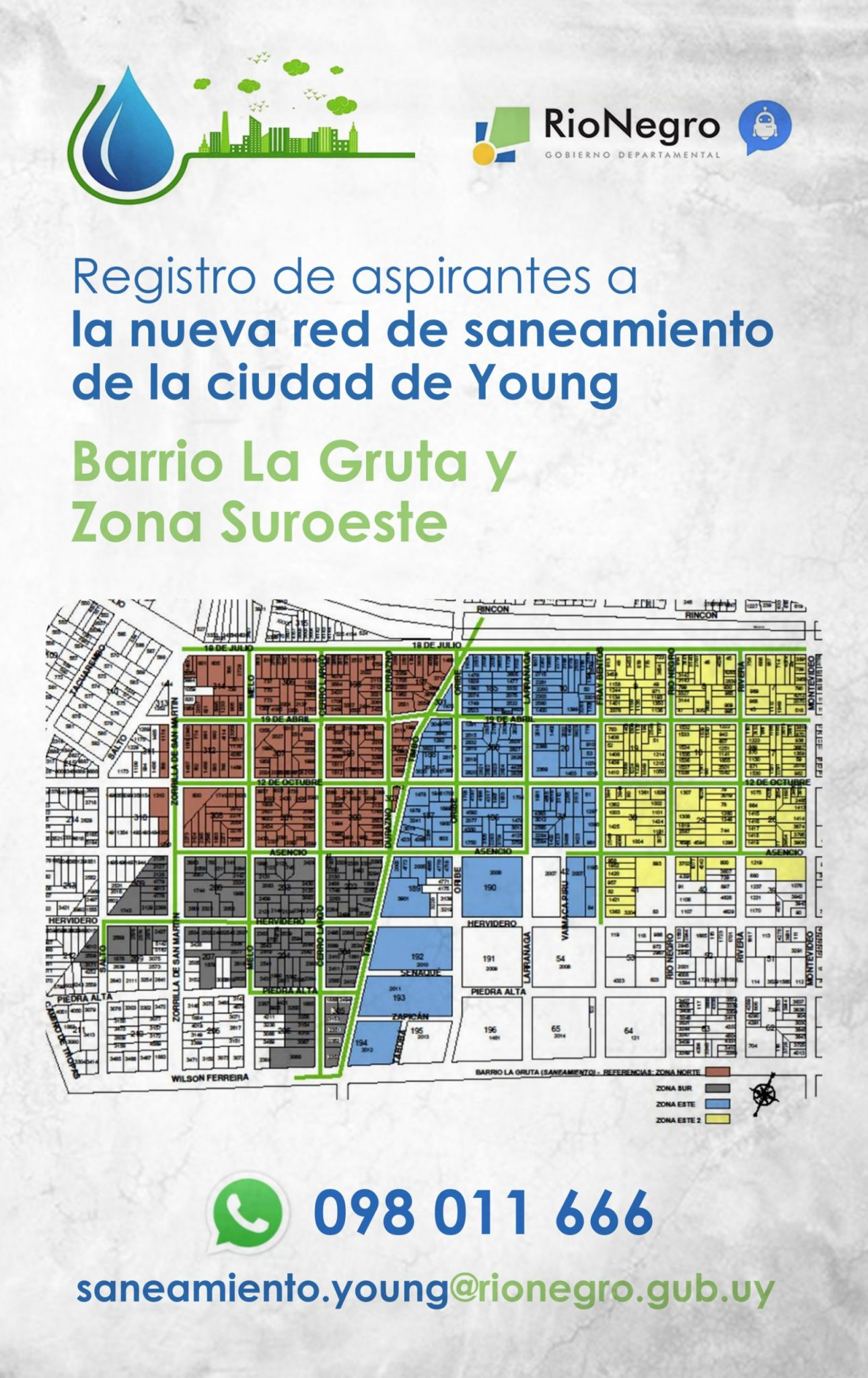 Saneamiento Young
