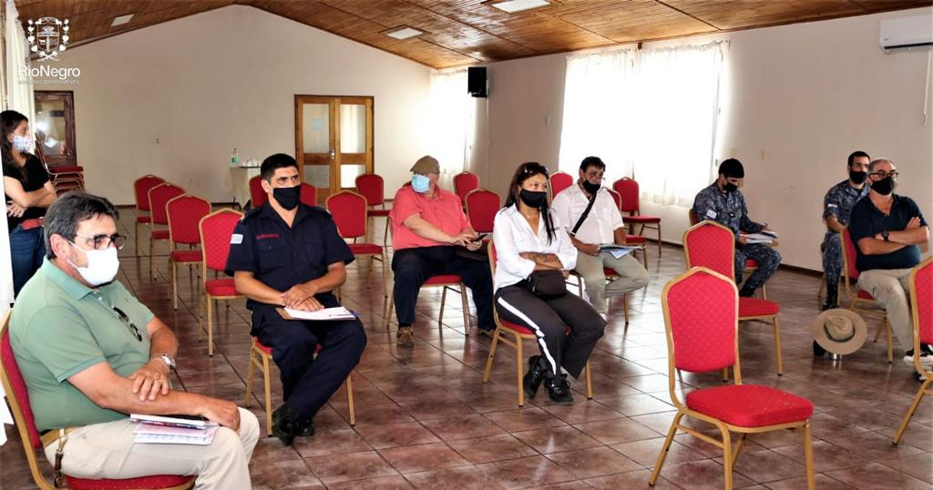 La Dirección de Turismo convocó a varias instituciones para programar acciones en el Balneario Las Cañas