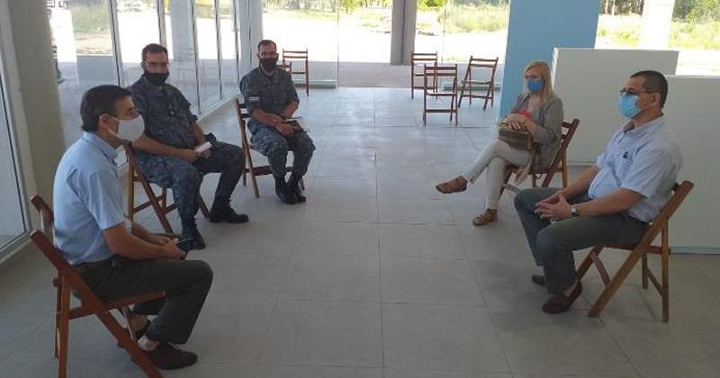 El Director Nacional de Pasos de Frontera recibió al Secretario General Jorge Gallo