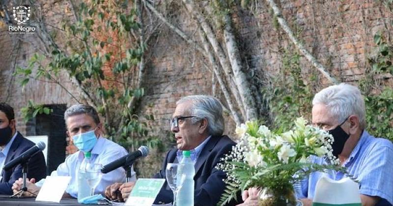 El Intendente de Río Negro participó de la ceremonia por el 20° aniversario de la Reserva M'Bopicuá